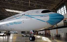 Bos Garuda Indonesia: Ada Empat Pesawat Lagi yang 'Pakai' Masker