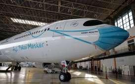 Garuda Indonesia Bikin Sayembara Livery Masker Pesawat