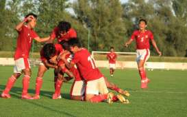 Hasil Timnas U-19 Vs Makedonia Utara: Mantap! Indonesia Menang Besar (Video)