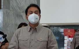 Wakil Ketua DPR Azis Syamsuddin Kecelakaan Sepeda. Begini Kondisinya