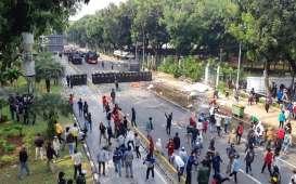 Gelombang Demo Tolak UU Cipta Kerja di Jakarta Hari Ini