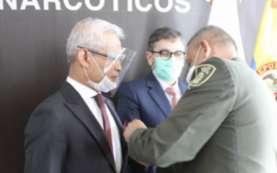 Perangi Narkoba Dua Negara, Dubes RI untuk Kolombia Raih Penghargaan