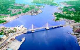 Ada Jembatan Teluk Kendari, Kota Lama ke Kec. Poasia Cuma 5 Menit