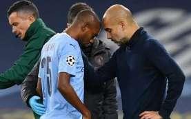 Gelandang Manchester City Fernandinho Cedera Lagi, Bakal Lama Absen