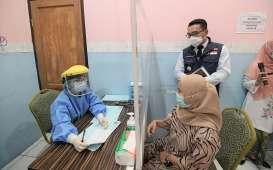 Ridwan Kamil Pantau Simulasi Pemberian Vaksin Covid-19 di Kota Depok