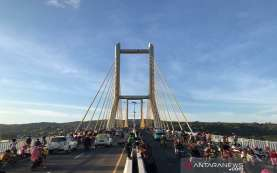 Buruan Rekreasi ke Jembatan Teluk Kendari, Hanya Dibuka Seminggu