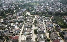 Foto-foto Sejumlah Perumahan di Bekasi Terdampak Banjir