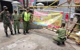 106 Warga 1 RT di Solo Dikarantina Covid-19, Jalan Diportal Pagar Bambu