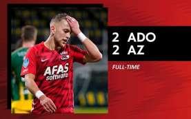 Hasil Liga Belanda : AZ Tak Terkalahkan, Tapi Tak Pernah Menang
