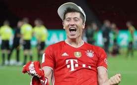 Cetak 10 Gol, Striker Bayern Munchen Lewandowski Top Skor Lagi