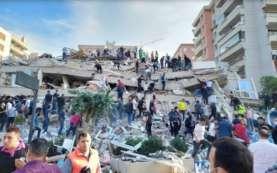 Foto-foto Gempa Turki Berkekuatan Magnitudo 7,0