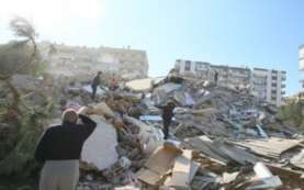 Video Detik-detik Terjadinya Gempa Turki Berkekuatan Magnitudo 7,0