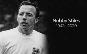 Nobby Stiles, Pemenang Piala Dunia 1966 untuk Inggris, Meninggal Dunia