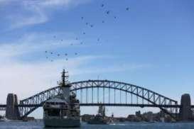 Ha! Kapal Feri Pesanan Australia dari Indonesia Disebut Banyak Cacatnya