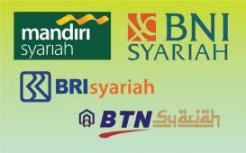 Mayoritas Laba Bank Syariah Dikuasai Tiga Anak Usaha BUMN