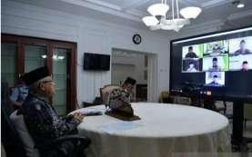Menteri BUMN Temui Wapres Bahas Kelanjutan Merger 3 Bank Syariah