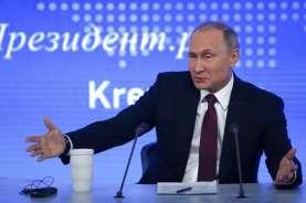 Vladimir Putin Dikabarkan Punya Anak Berusia 17 Tahun dari Pembantu Rumah Tangganya