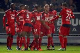 Unggul Jumlah Pemain, Rennais Dipaksa Imbang Strasbourg