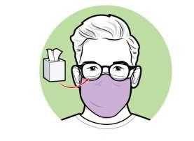 Begini Cara Hindari Kacamata Berembun Saat Pakai Masker