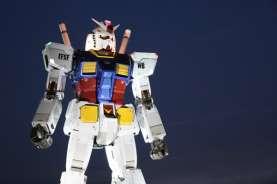 Patung Gundam Raksasa Siap Unjuk Gigi di Jepang
