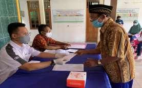 Bank Jateng Cabang Sukoharjo Fasilitasi Pembagian Uang Duka