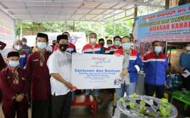 63 Panti Asuhan dan Pesantren di Sulawesi Dapat Bantuan Pertamina