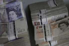 Investor Berspekulasi Soal Kesepakatan Brexit, Pound Sterling Fluktuatif