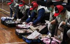 Tumpukan Uang Rp14,5 Miliar Korupsi Dana Bansos Mensos Juliari Cs