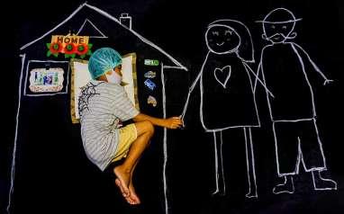 """Foto-Foto Pemenang Lomba Foto Bisnis Indonesia """"Di Rumah Aja"""""""