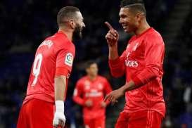 Hasil Lengkap La Liga Spanyol, Real Madrid Tempel Ketat Atletico