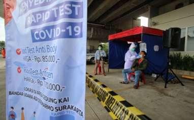 Rapid Test Antigen di Bandara Adi Soemarmo Banyak Diakses Masyarakat Umum