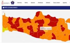17 Daerah di Jawa Tengah Zona Merah Covid-19 pada Akhir 2020