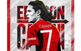 Diskorsing FA, Manchester United Bela Cavani