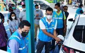 Pakai Mobil Listrik, Erick Thohir : Jakarta-Bali Cuma Habis Rp200.000