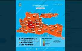 Zona Merah Covid-19 di Jatim Bertambah, Kini Madiun, Nganjuk, Kediri dan Mojokerto