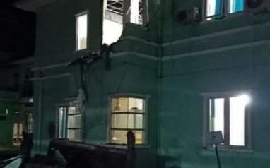 Gempa Bermagnitudo 6,2 Hancurkan Sejumlah Bangunan di Mamuju