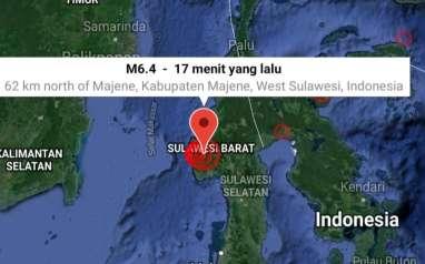 Gempa di Sulawesi Barat, BNPB: Warga Panik Masih di Luar Rumah