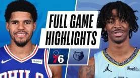 Hasil Basket NBA : Morant Kembali, Grizzlies Atasi Sixers