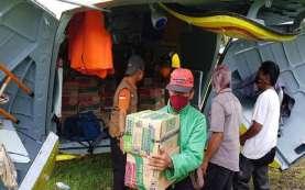 Gempa Sulawesi Barat, BNPB Gunakan Helikopter Distribusi Logistik