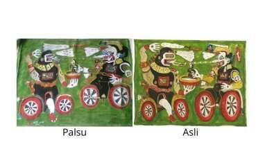 Kian Kronis dan Membabi Butanya Praktik Pemalsuan Lukisan