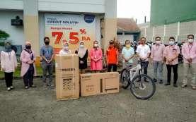 Bank Jateng Serahkan Hadiah Undian Program Kredit Solutip di Cilacap