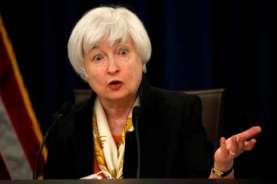 Di Depan Senat, Janet Yellen Tegaskan Dirinya Anti-Intervensi Mata Uang