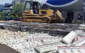 Bea Cukai Riau Lakukan 422 Penindakan Barang Ilegal Sepanjang 2020