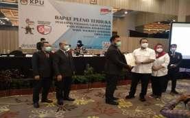 KPU Tetapkan Hendi-Ita Pasangan Wali Kota Semarang