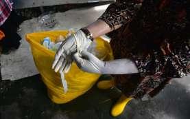 Bea Cukai Gagalkan Penyelundupan Limbah Medis Asal Malaysia