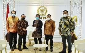 DPR Serahkan Persetujuan Kapolri Komjen Listyo Sigit ke Istana