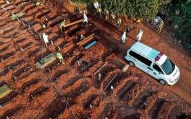 Pemakaman dengan Protab Covid-19 Melonjak, DKI Tambah Liang Lahat