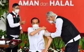 Besok, Jokowi Dijwadalkan Suntik Vaksin Covid-19 Dosis Kedua