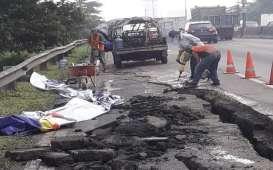 Tol Surabaya-Gempol Longsor, Jasa Marga Kurangi Kapasitas Transaksi Gerbang Dupak dan Banyuurip