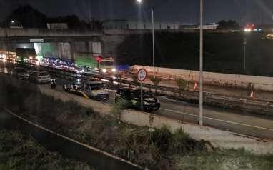 Sempat Tergenang, Exit Bitung Tol Jakarta-Tangerang Kembali Normal